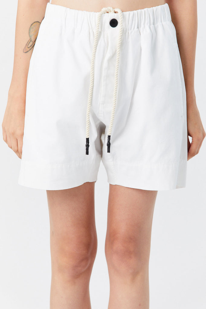 BASSIKE - Canvas Relaxed Short, Natural