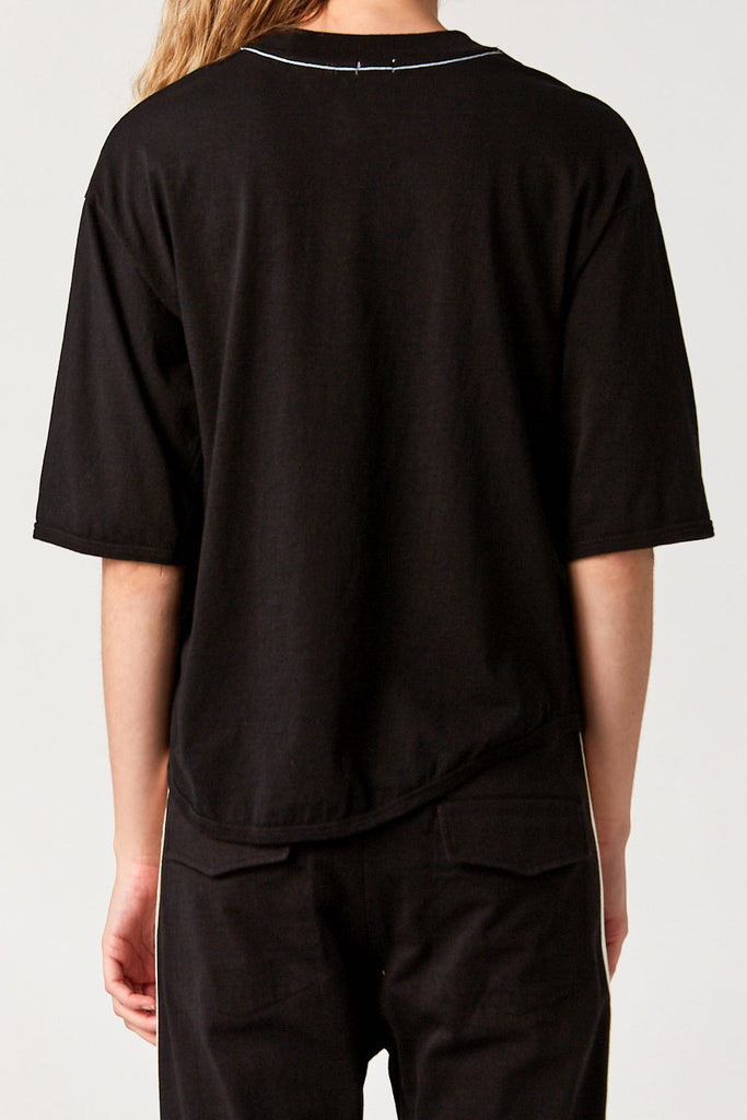 BASSIKE - Short Sleeve T-Shirt, Black