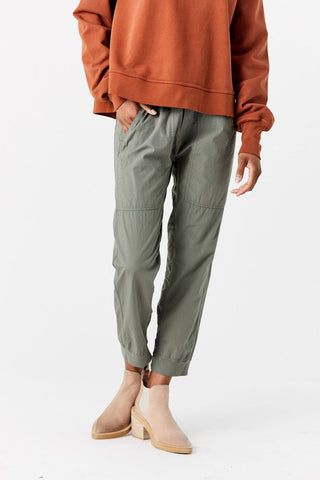 Utility Cotton Jersey Pant, Army