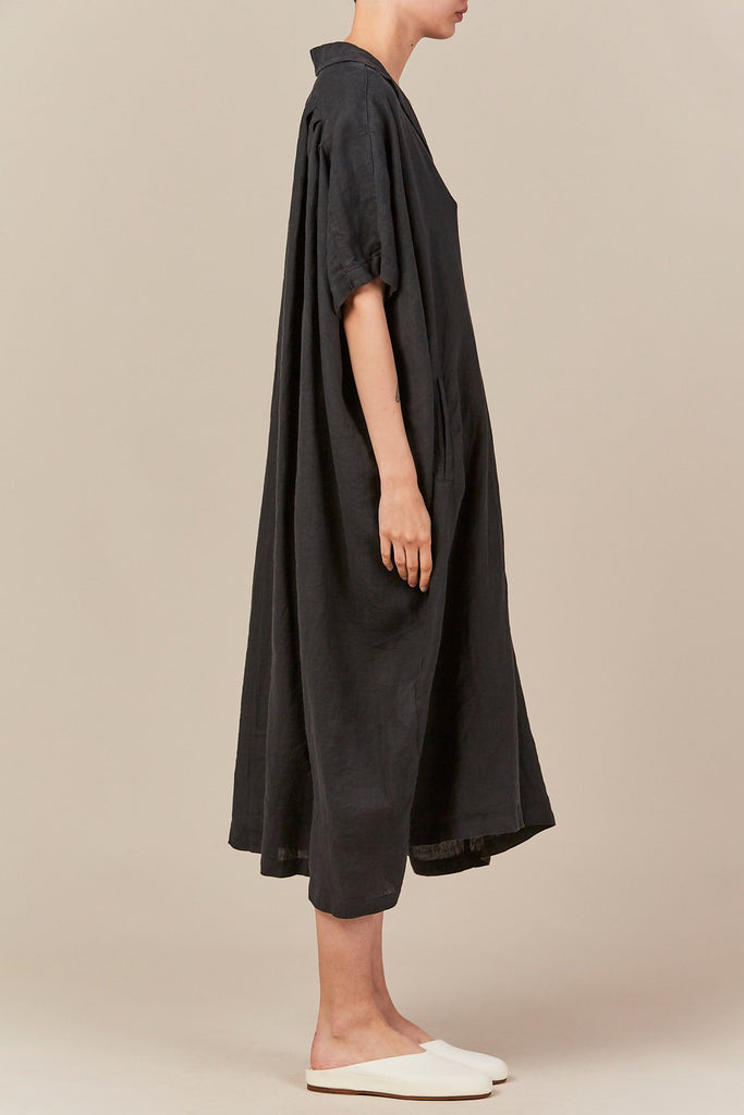 Black Crane - kite dress, green black