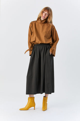 Wide Culottes, Dark Grey