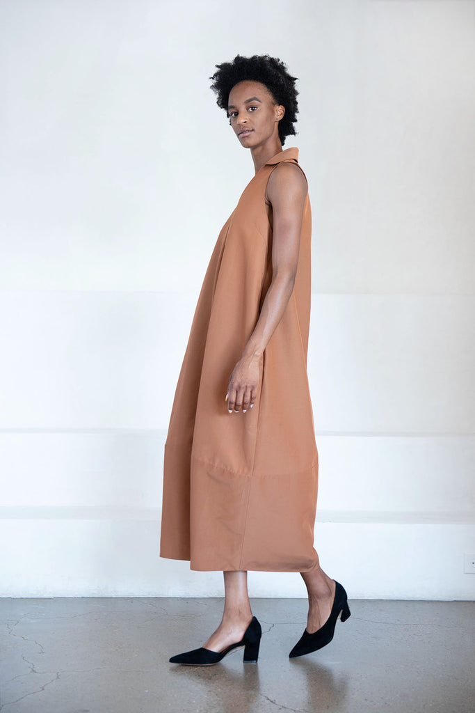 CO - sleeveless dress, copper