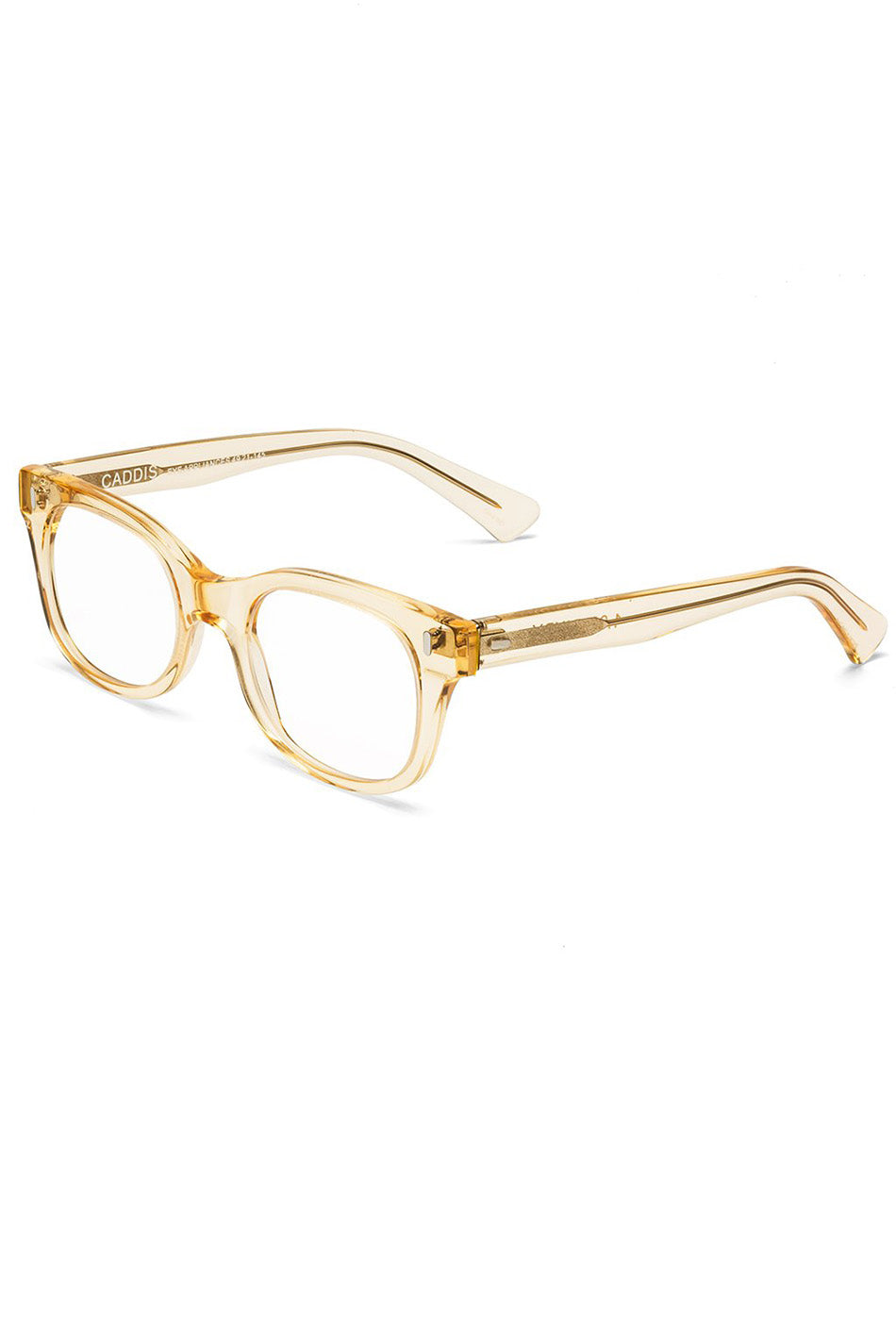 CADDIS - BIXBY reader glasses, Raw Honey