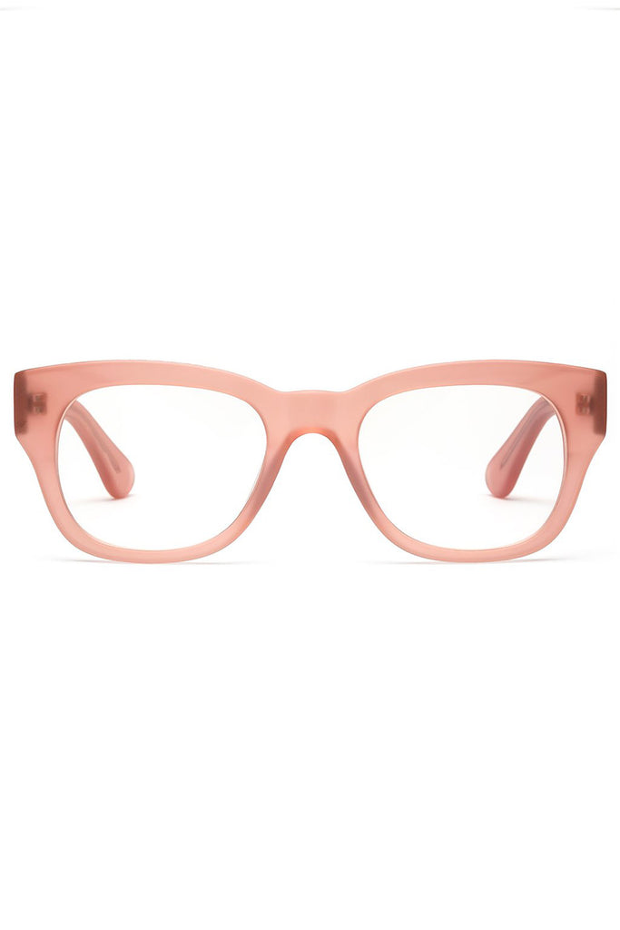 MIKLOS reader glasses, Matte Pink
