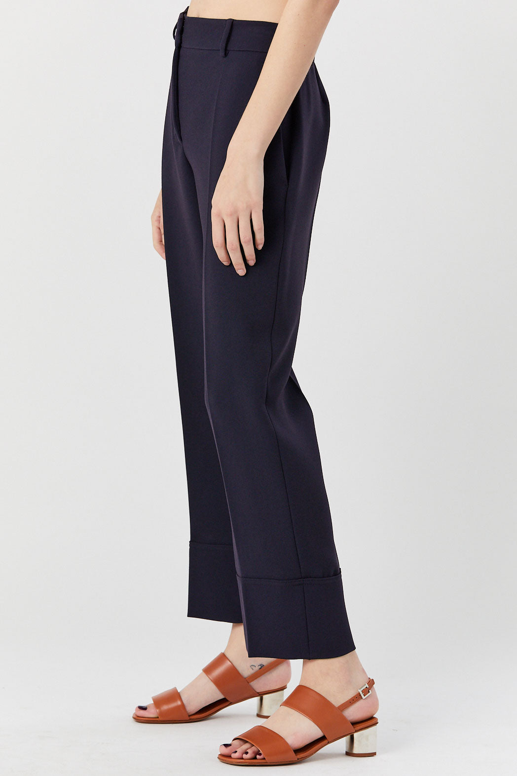 cédric charlier - Trouser, Navy