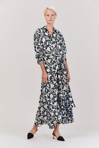 Dabba Wrap Dress, Zaida Flower