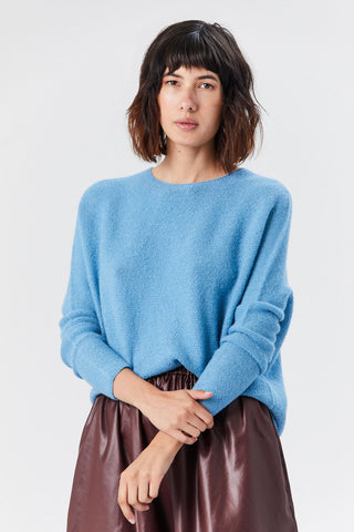 Kasima Sweater, Light Blue