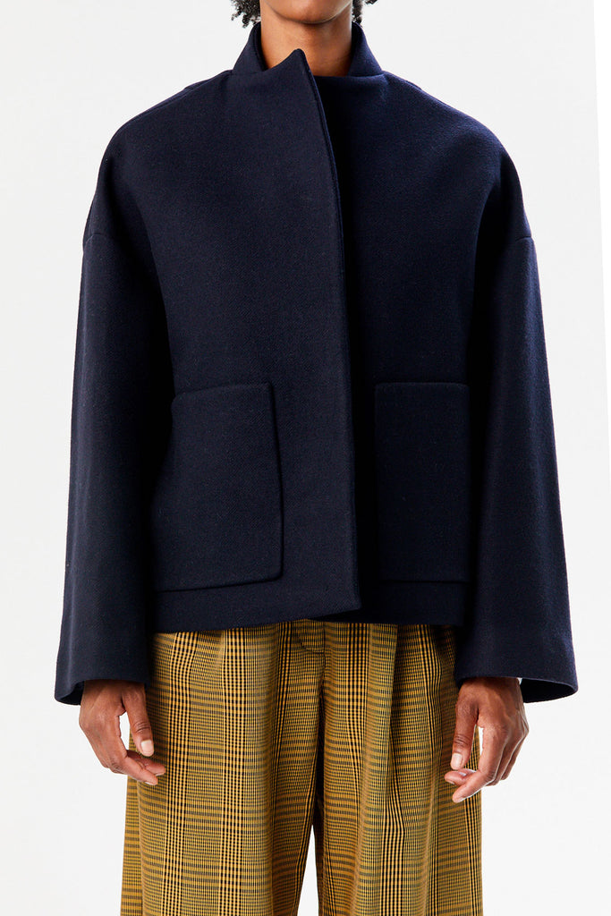 Caspir Coat, Navy