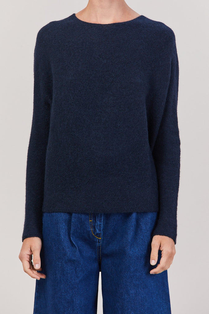 Christian Wijnants - Kaelai Crewneck Sweater, Navy