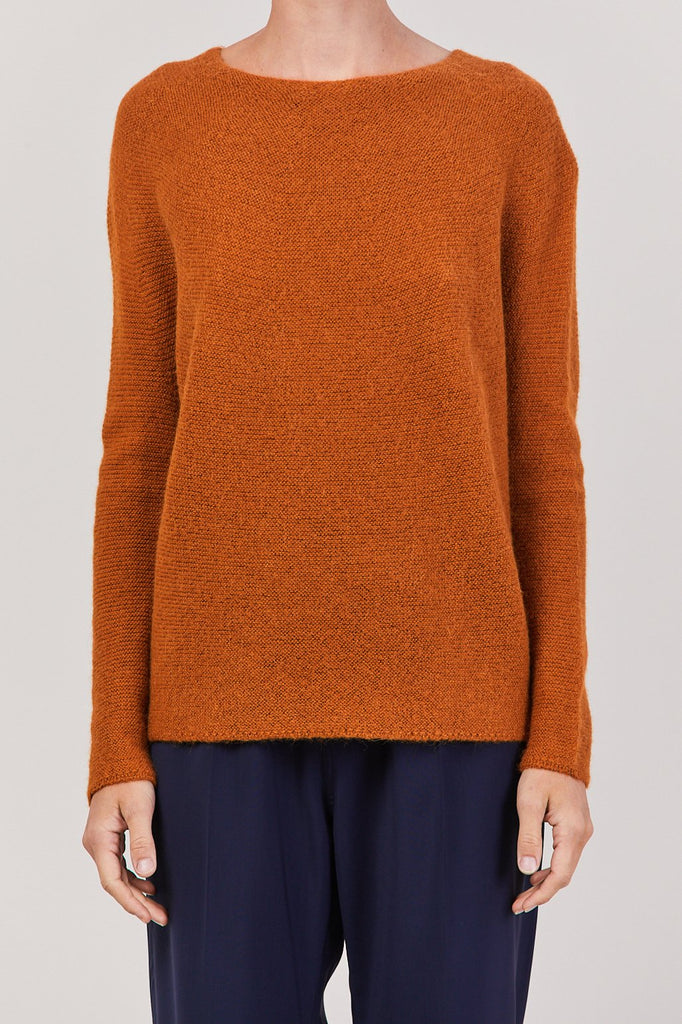 Christian Wijnants - Kaelai Crewneck Sweater, Rust