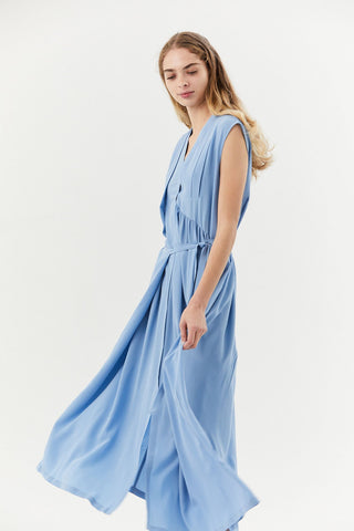 Dai Dress, Light Blue