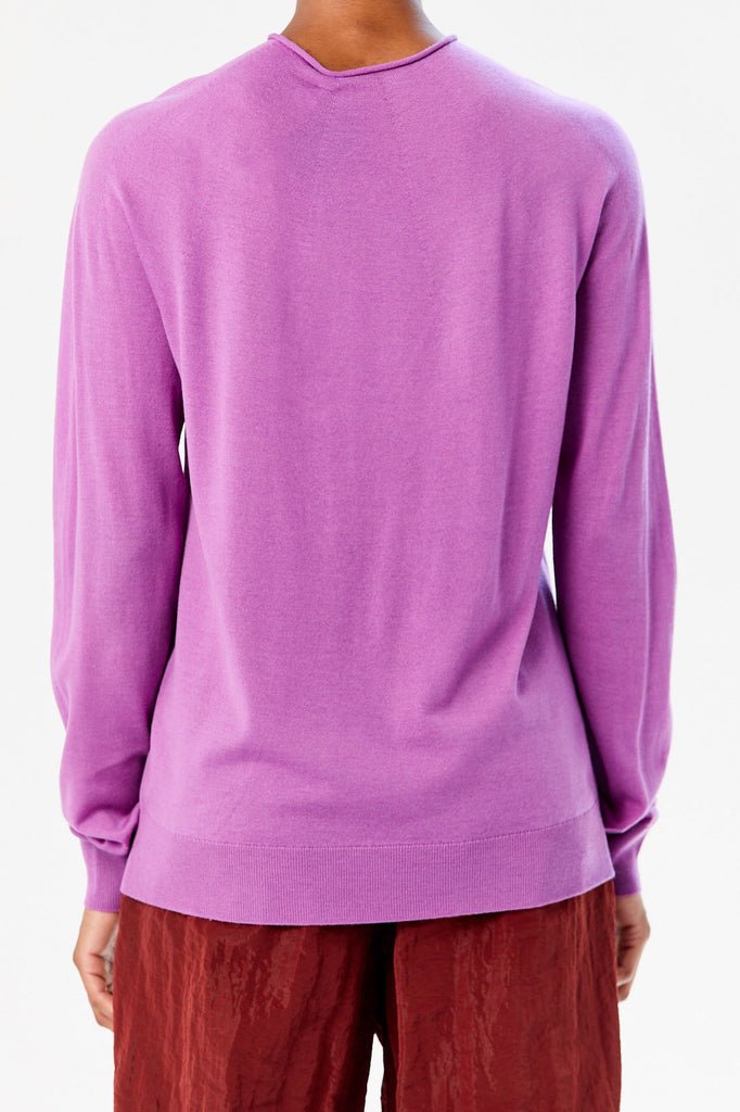 Karol Sweater, Plum