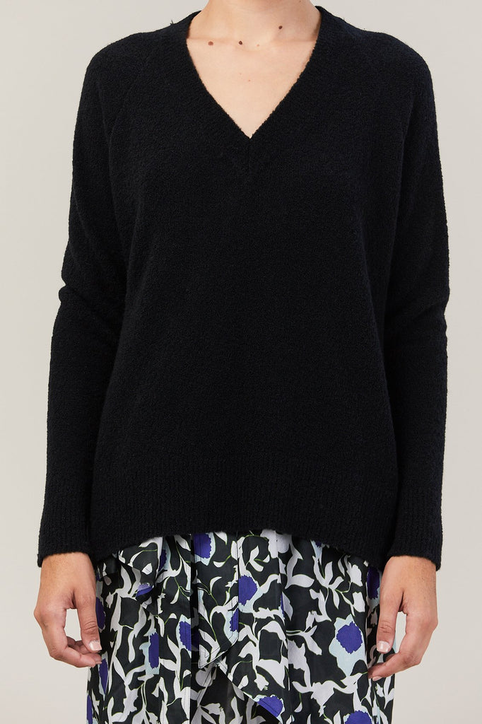 Christian Wijnants - Karwa V Neck Sweater, Black