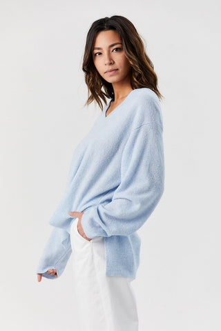 Kate Sweater, Light Blue