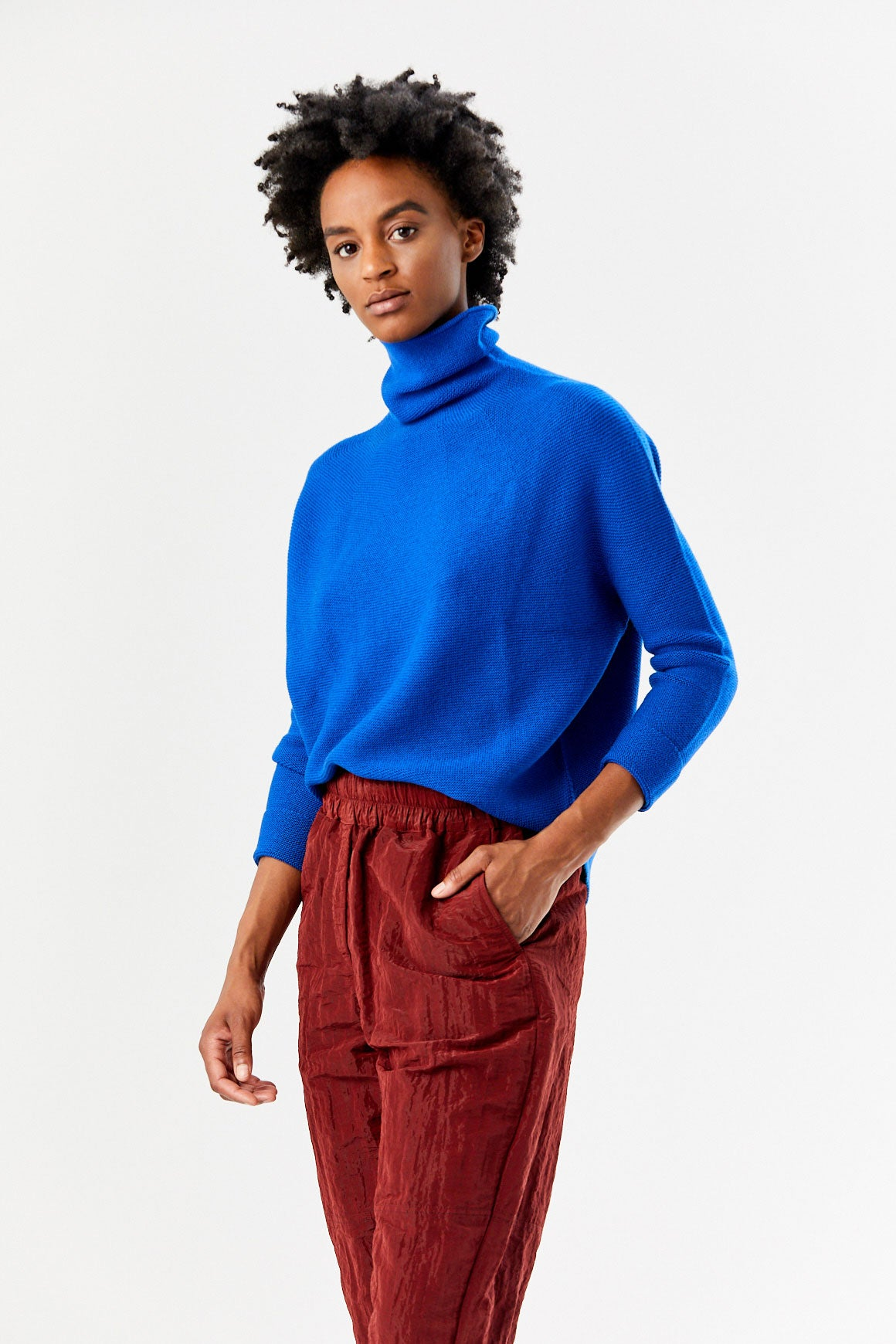Kolkata Sweater, Blue