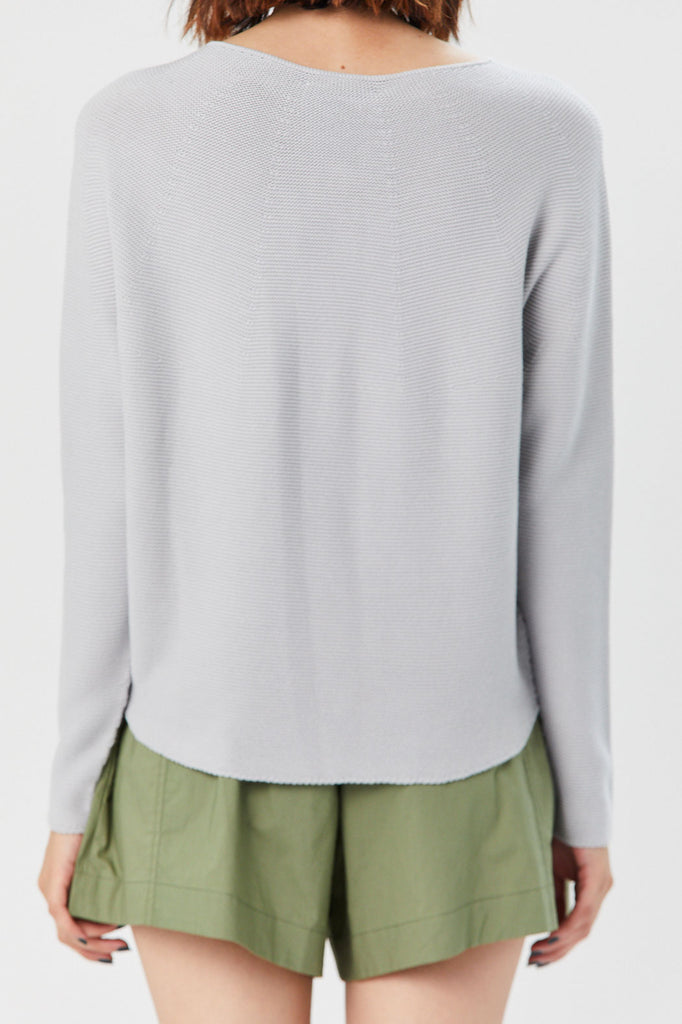 Christian Wijnants - Kumi Sweater, Light Grey