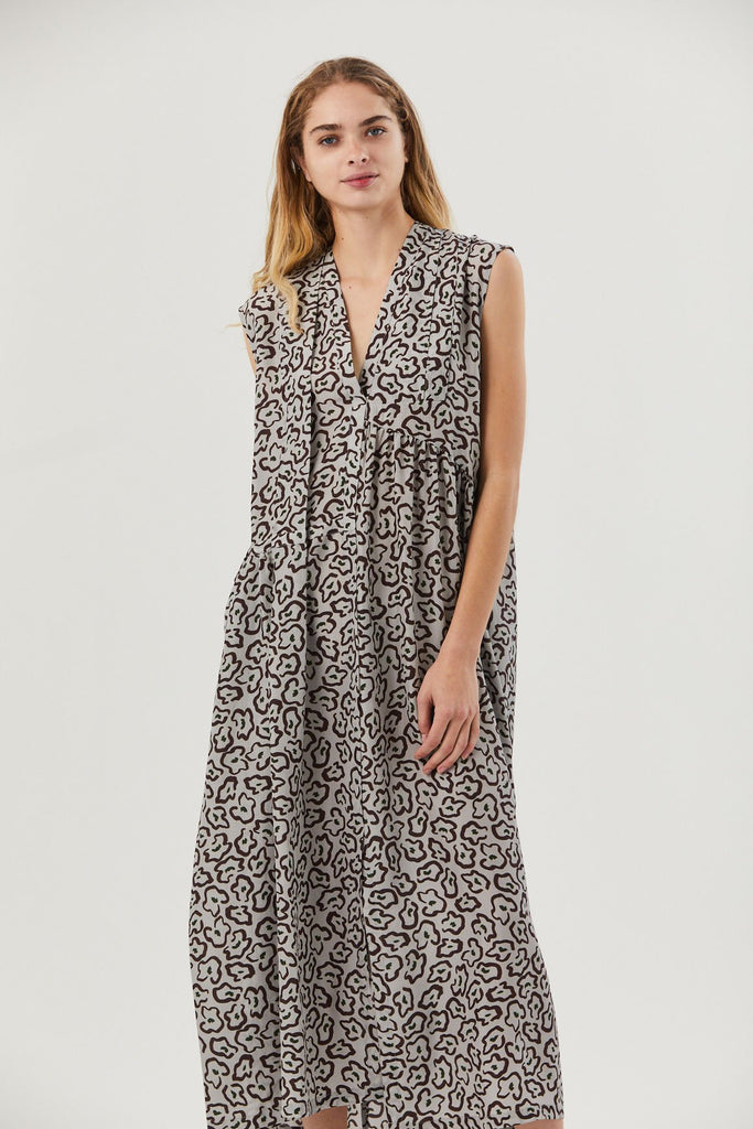 Christian Wijnants - Dai Dress, Leopard Grey