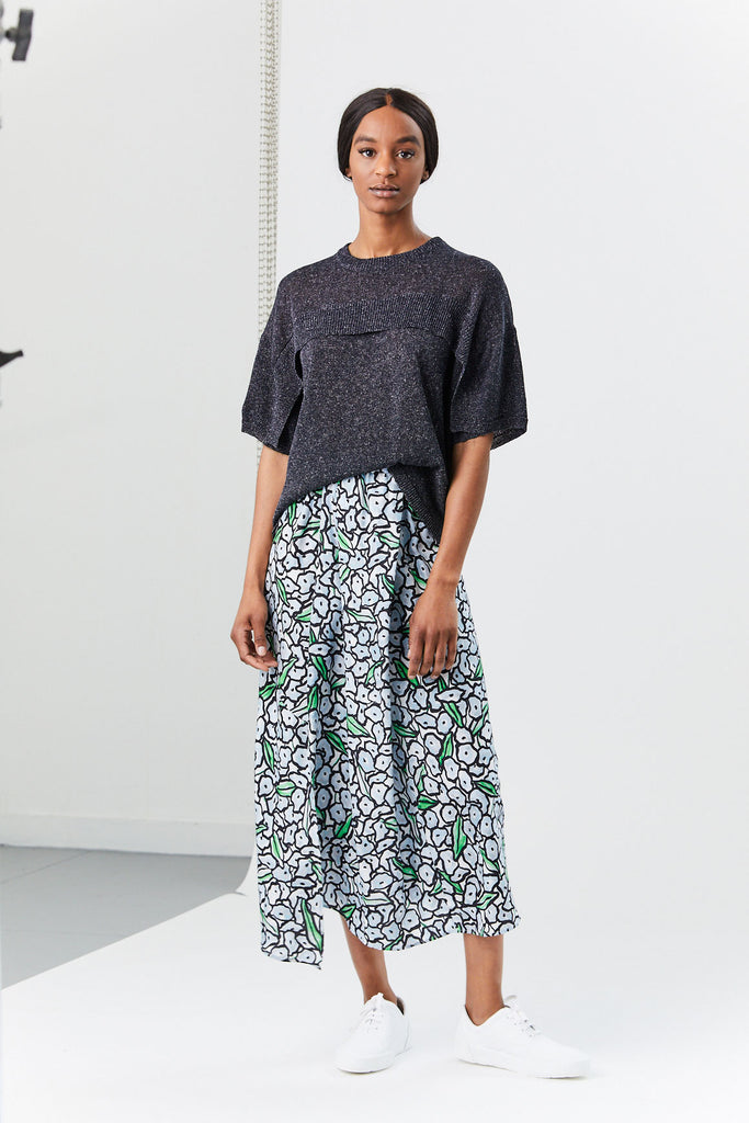 Christian Wijnants - Sonam Skirt, Blossom Blue
