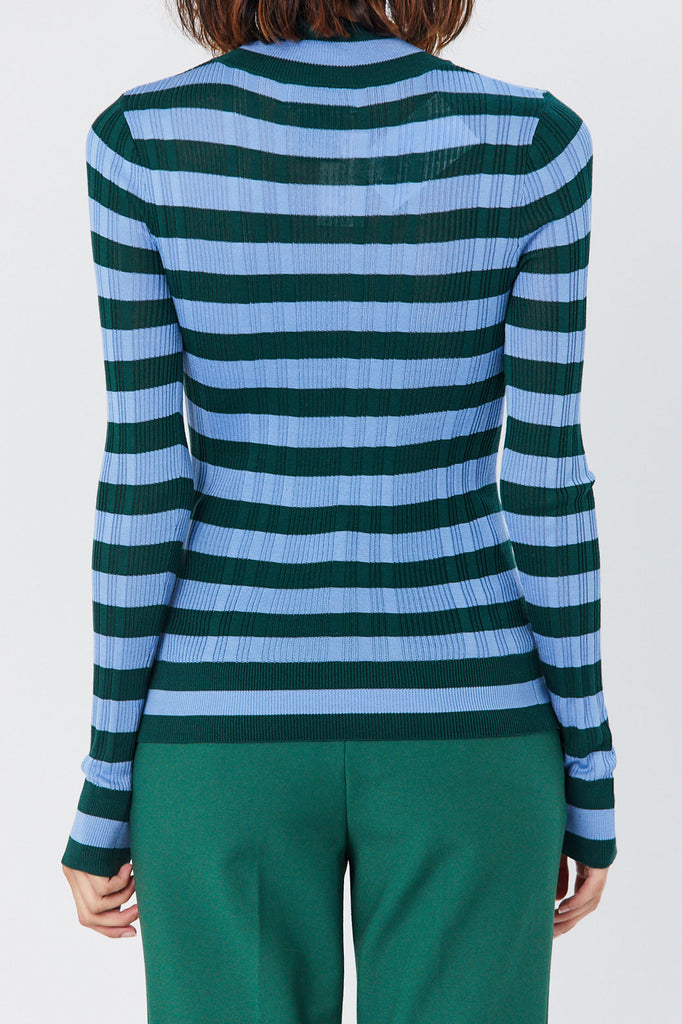 Christian Wijnants - Kamia Sweater, Green/Blue