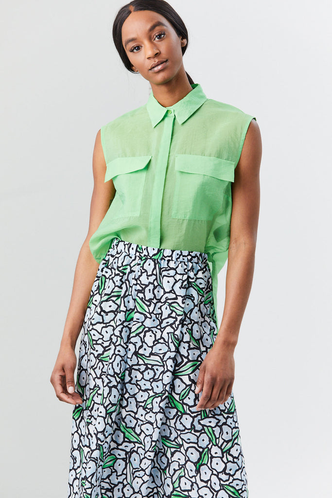 Toba Shirt, Green