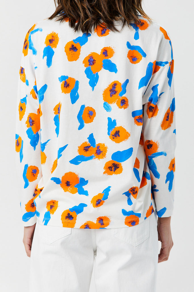 Christian Wijnants - Turas Top, Orange Primrose