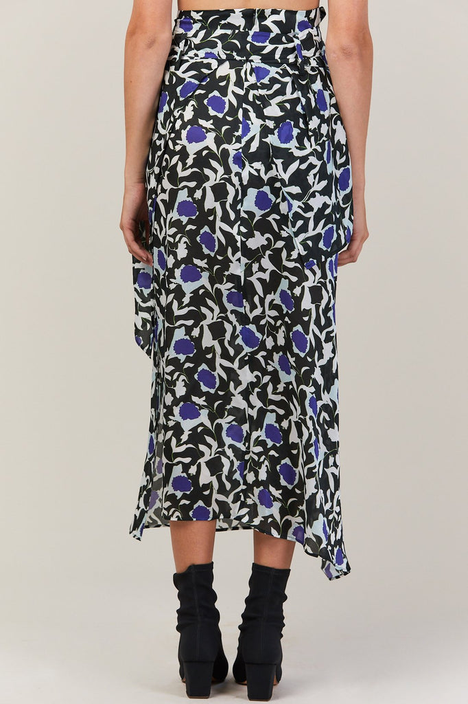 Christian Wijnants - Wrap Skirt, Zaida Flower
