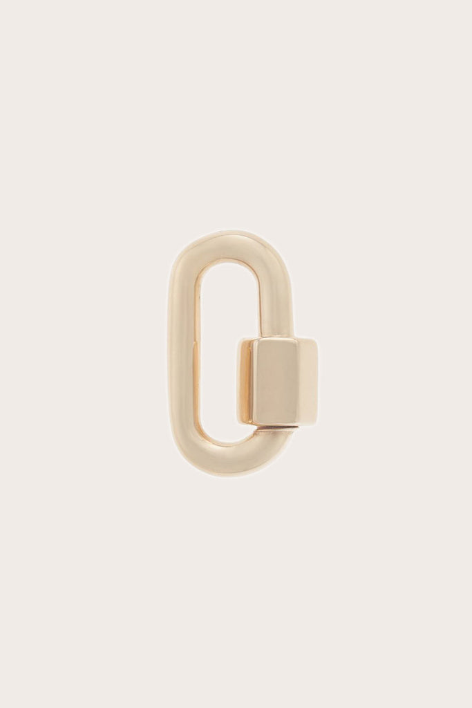 Marla Aaron - Chubby Medium Lock, Gold