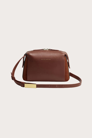 City Shoulder Bag, Red Earth