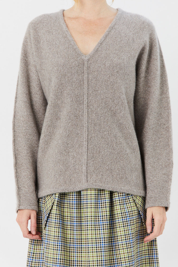 CO - Cashmere Knit Sweater, Light Taupe