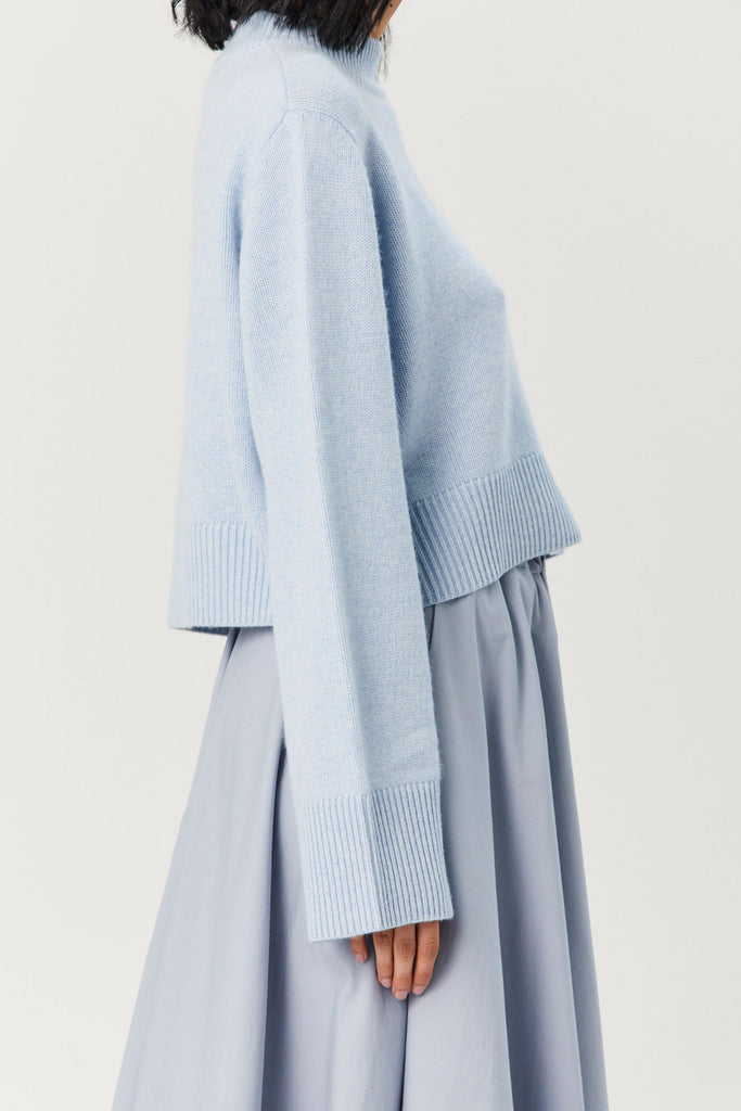 CO - Cashmere Sweater, Light Blue