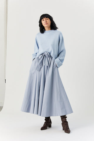 Cashmere Sweater, Light Blue