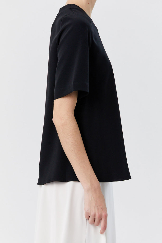 CO - Oversized Short Sleeve Tee, Black