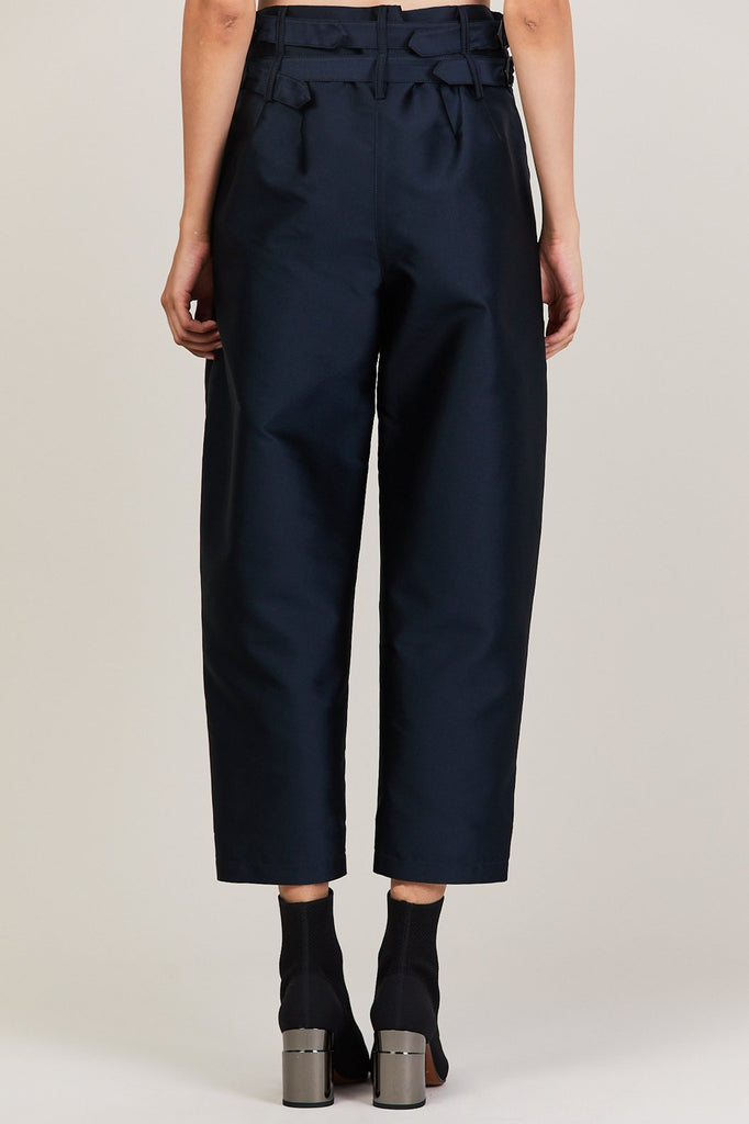 Colovos - Buckle Pant, Navy