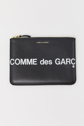 Huge Logo Pouch, Black