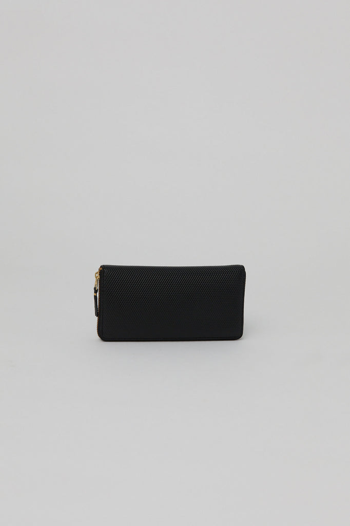 Long Zip Wallet, Black