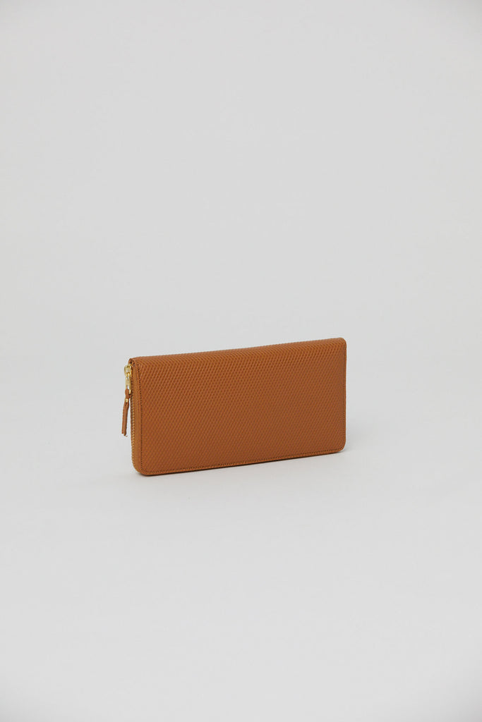 Long Zip Wallet, Beige