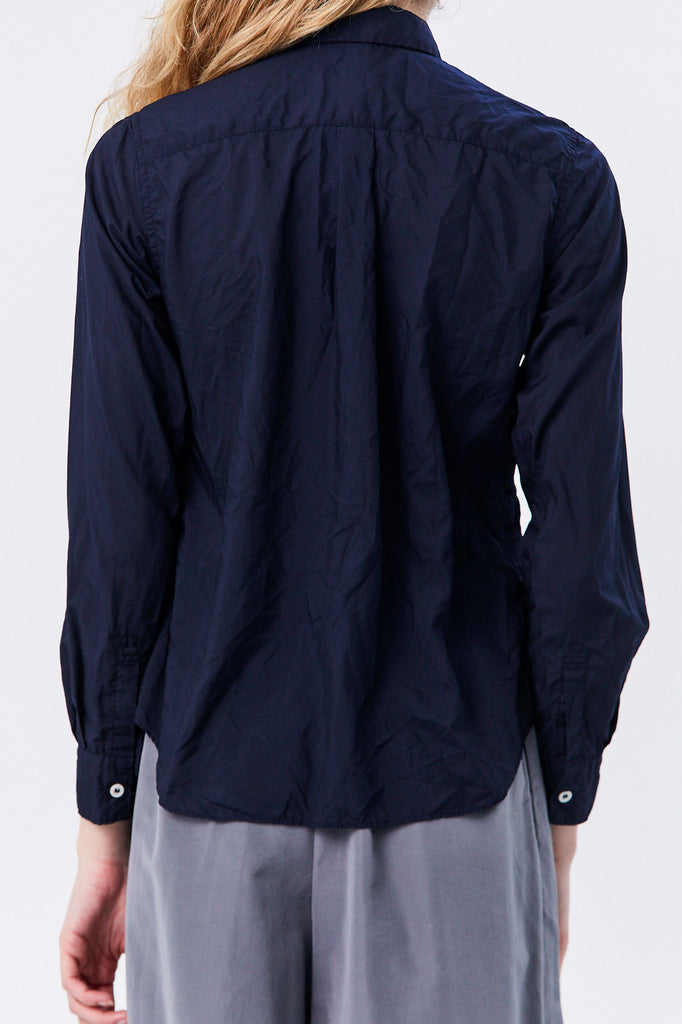 Comme des Garçons - Side Pocket Button Down, Navy