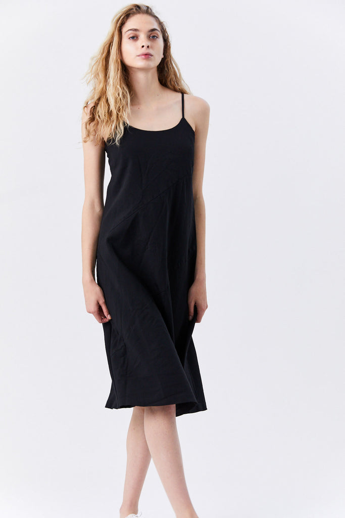 Comme des Garçons - Sleeveless Panel Dress, Black
