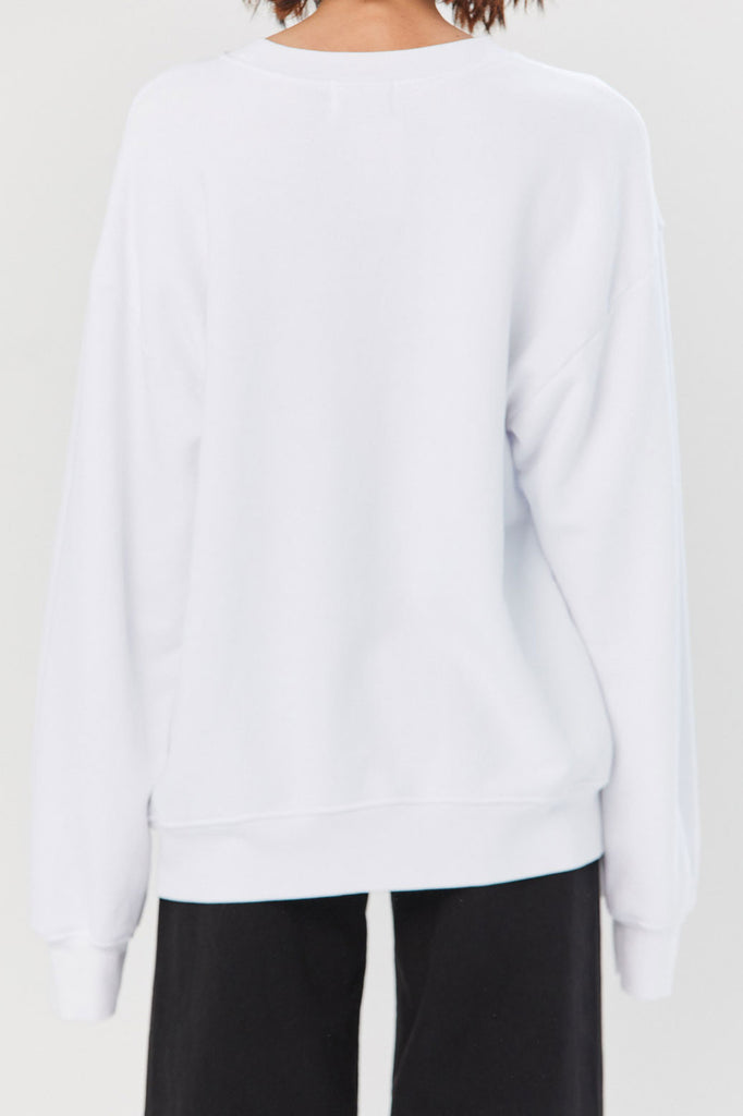 Cotton Citizen - Brooklyn Oversized Sweatshirt, White