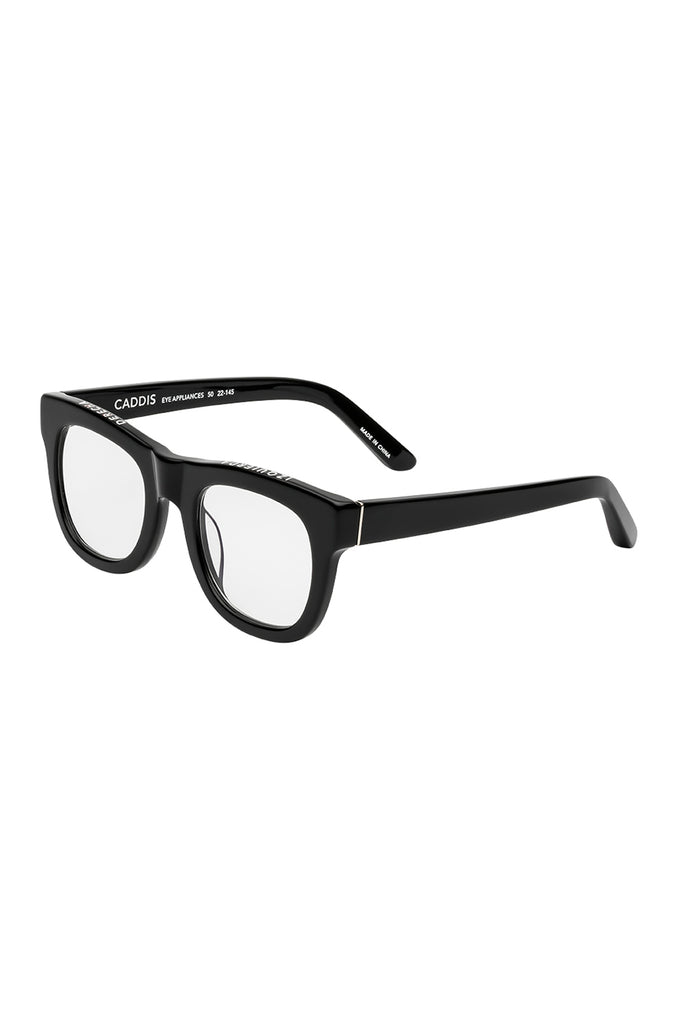 D28 reader glasses, gloss black
