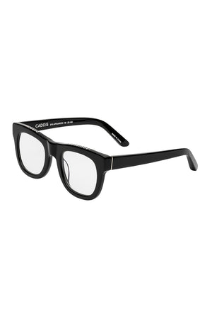 CADDIS - D28 reader glasses, gloss black
