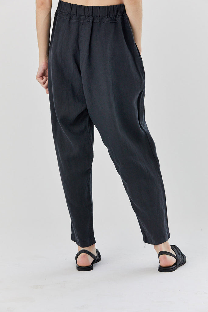 Black Crane - carpenter pants, black