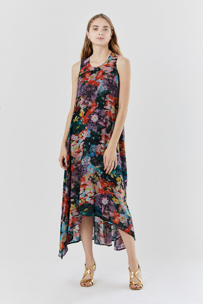 ANNTIAN - flaneur dress, flower