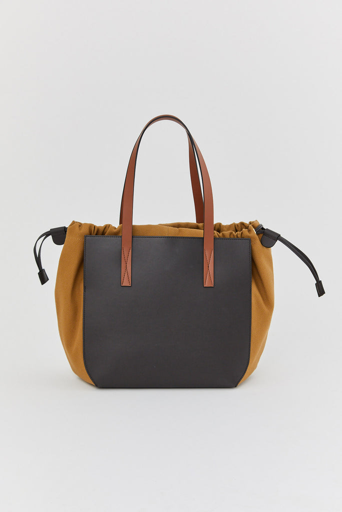 MARNI - gusset shopping bag, Multi