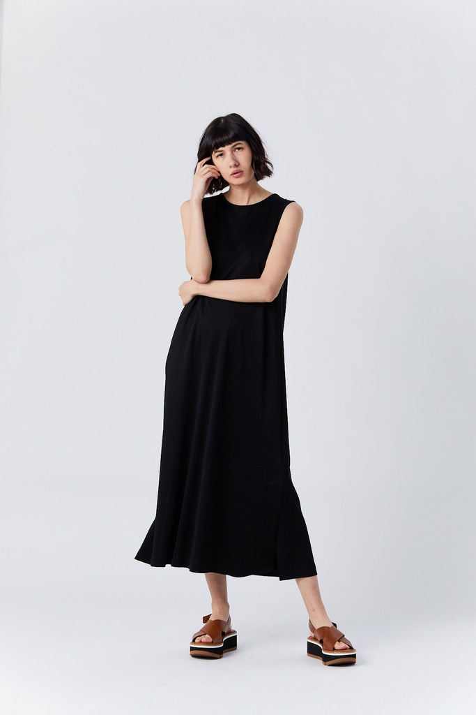 Easy Tank Dress, Black