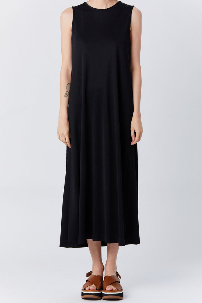 Dušan - Easy Tank Dress, Black