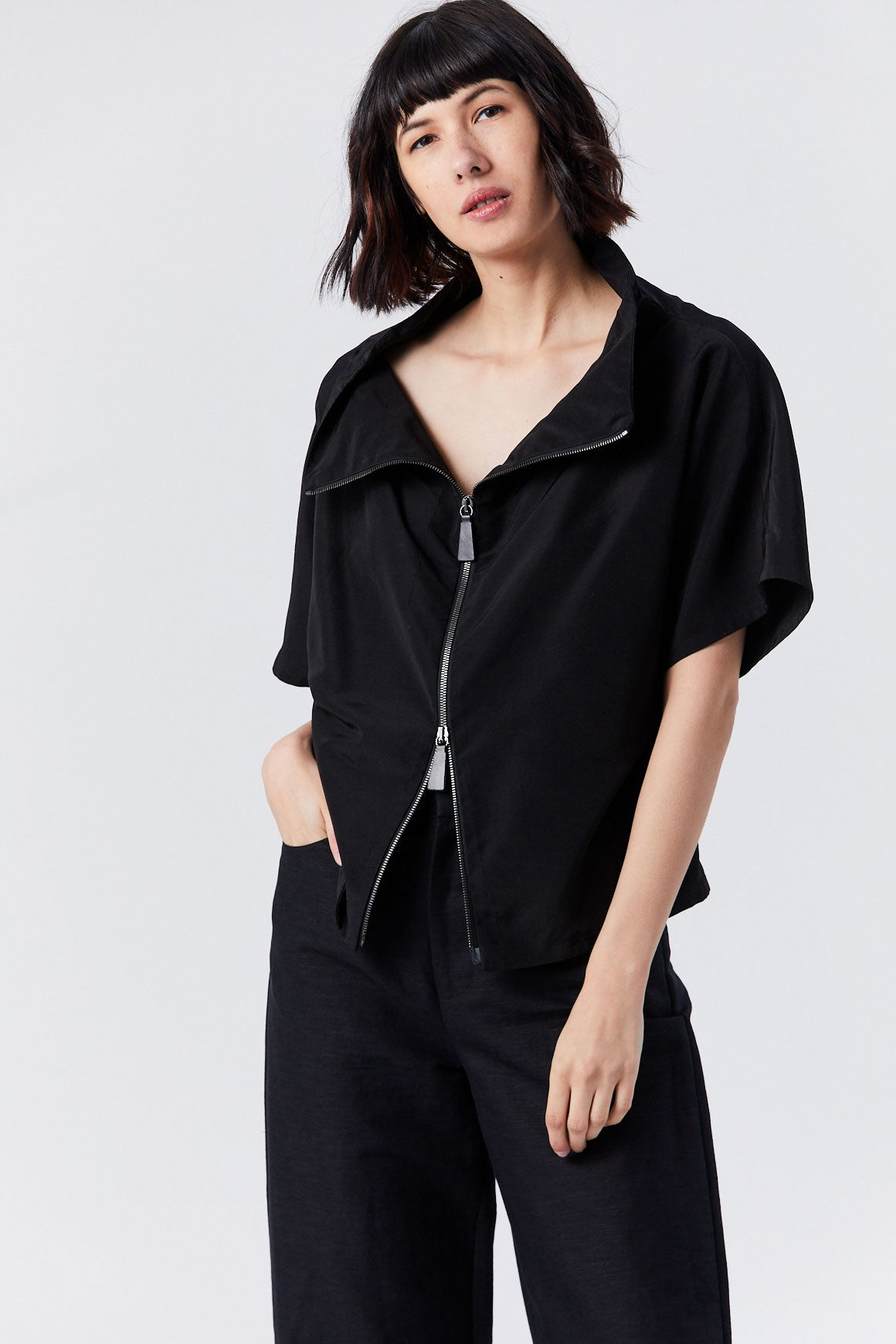 Dušan - Tunic Jacket, Black
