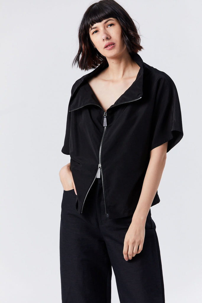 Tunic Jacket, Black