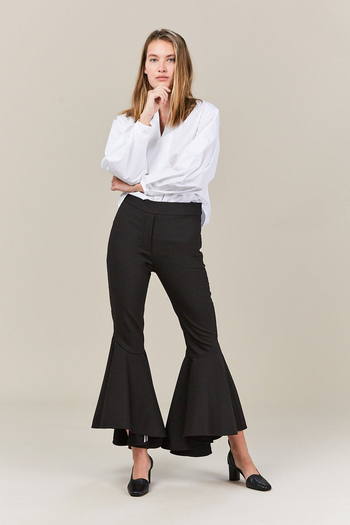 Sinuous Cropped Full Flare