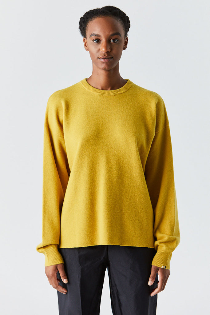 Extreme Cashmere - Host Sweater, Mustard
